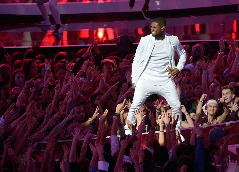 "Usher: His tour's title, ""The UR Experience,"" is a play on his initials and a promise that you won't get this show from any other entertainer in the world. Don't miss out!"