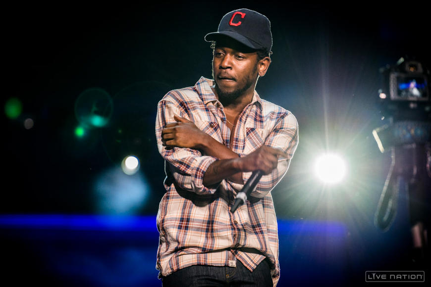 Kendrick Lamar at Made In America Los Angeles