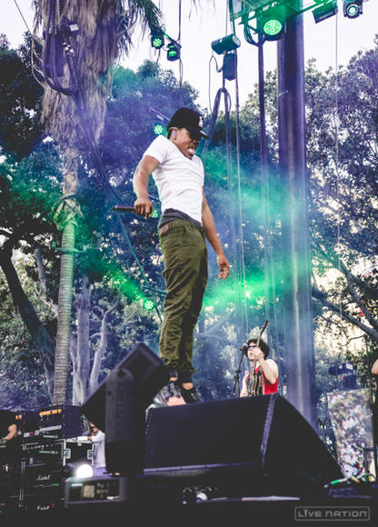 Chance the Rapper at Made In America Los Angeles