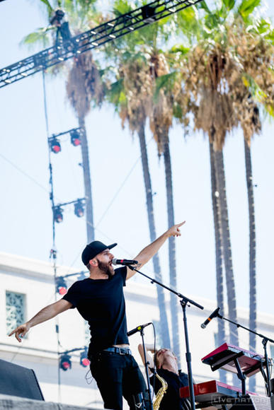 X Ambassadors at Made In America Los Angeles