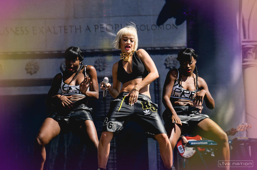 Rita Ora at Made In America Los Angeles