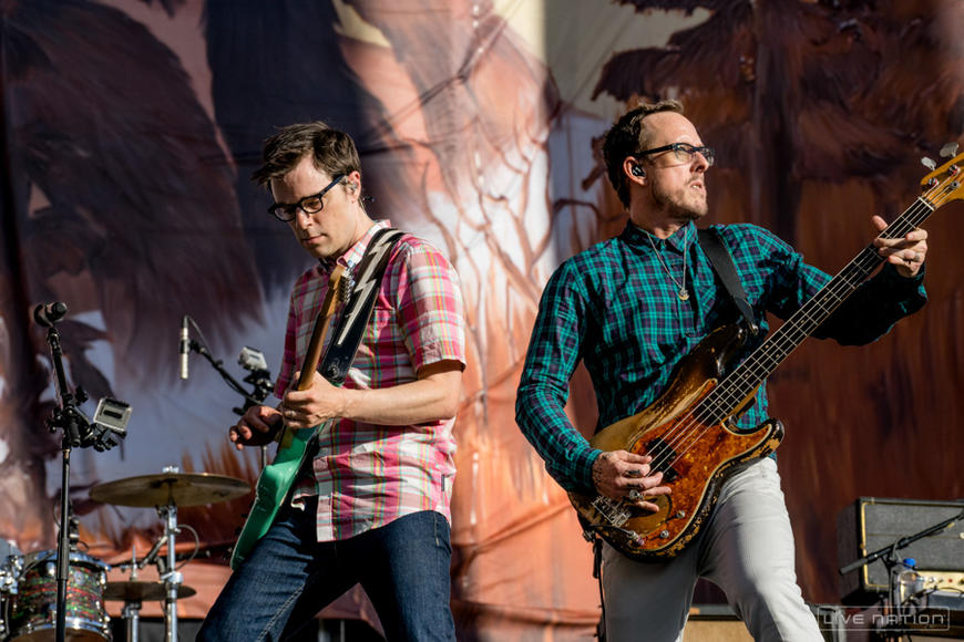 Weezer at Made In America Los Angeles