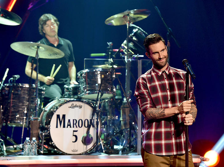 Maroon 5: For their new album, 'V', Adam Levine and his cohorts are MAPping their way to YOU starting February 2015.