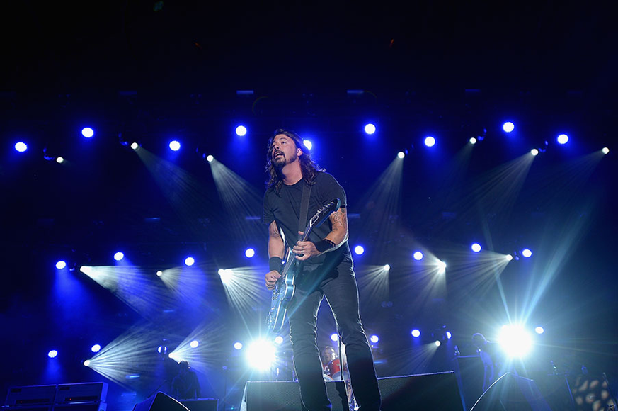 Foo Fighters at the 2014 Firefly Music Festival