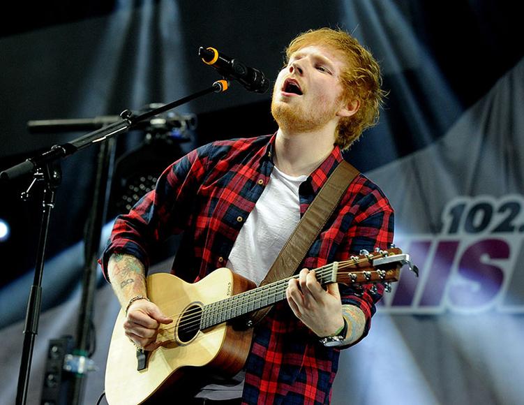 Ed Sheeran at Wango Tango 2014