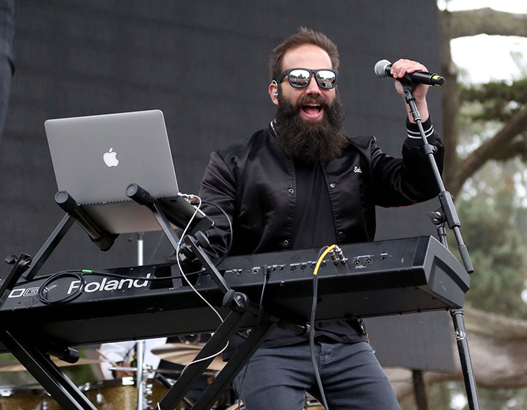 Capital Cities at the 2014 Outside Lands Music and Arts Festival