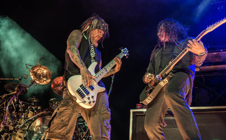 Korn at the 2014 Mayhem Festival