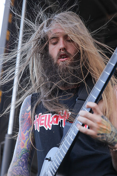 Suicide Silence at the 2014 Mayhem Festival