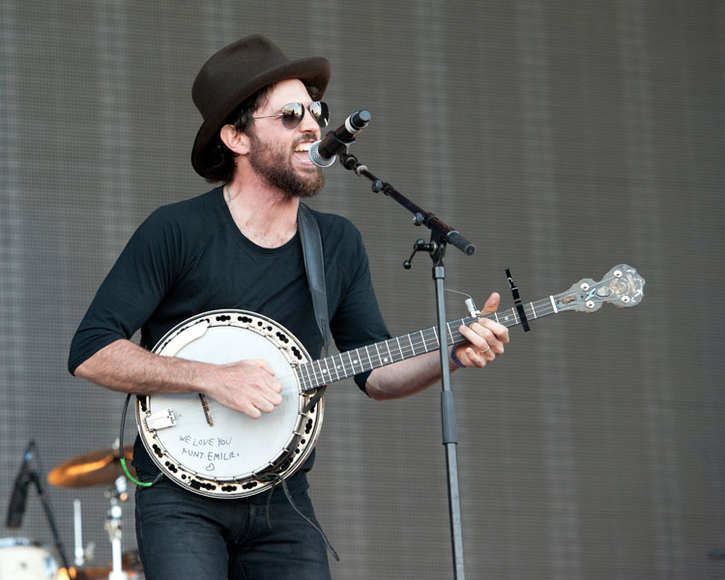 The Avett Brothers at the 2014 Hangout Music Festival