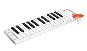 Mobile musical keyboard: Save some room for your roomie and leave all 88 keys at home.