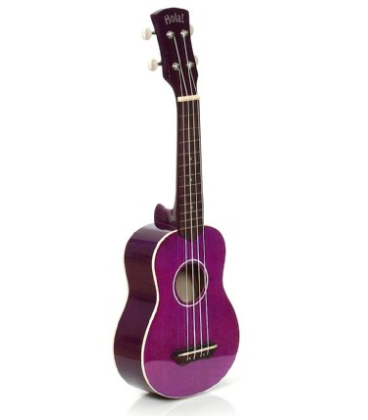 Hola! Soprano ukulele: Unwind from test stress by strumming tunes on the uke. We suggest some Ingrid Michaelson or Jason Mraz.