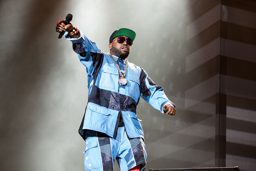OutKast at Lollapalooza Music Festival 2014