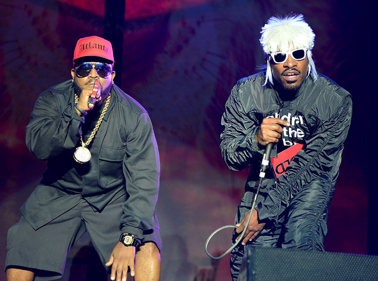 OutKast at Firefly Music Festival 2014