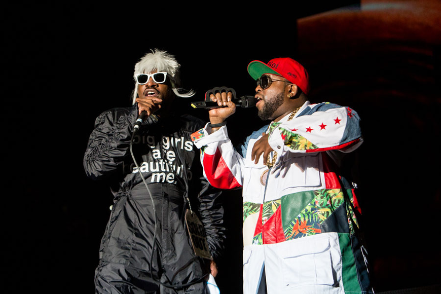 OutKast at Hangout Music Festival 2014