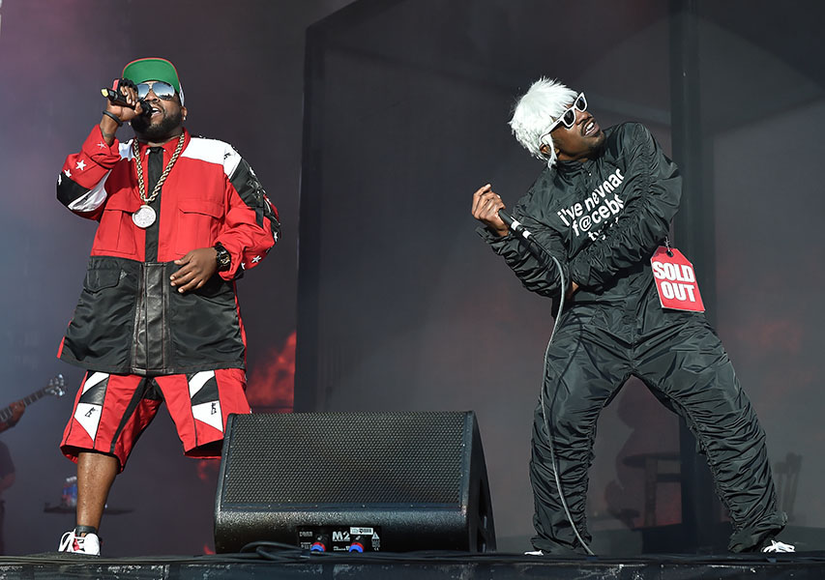OutKast at BottleRock Music Festival 2014