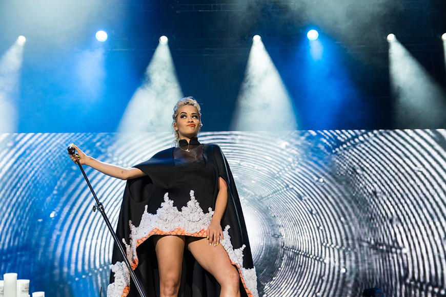 Rita Ora at GNCFEST