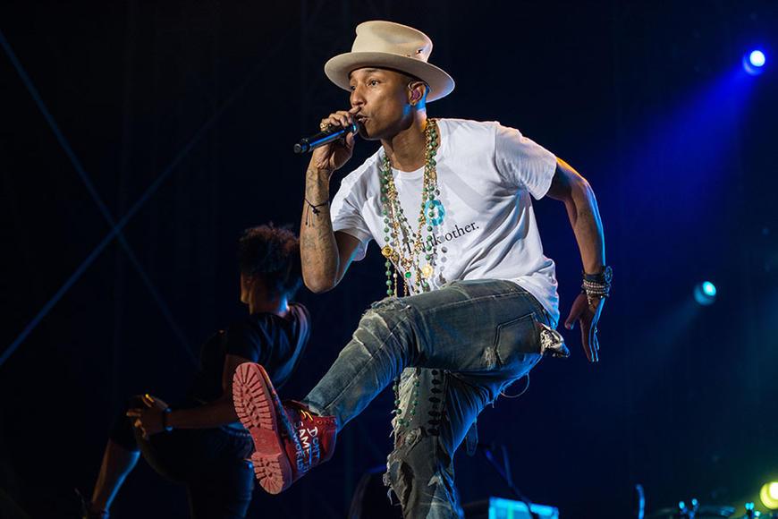 Pharrell at GNCFEST