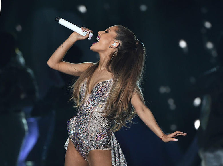 Ariana Grande: The petite pop princess with the BIG voice is going on her Honeymoon (Tour)! She'll be singing her heart out around North America this fall.