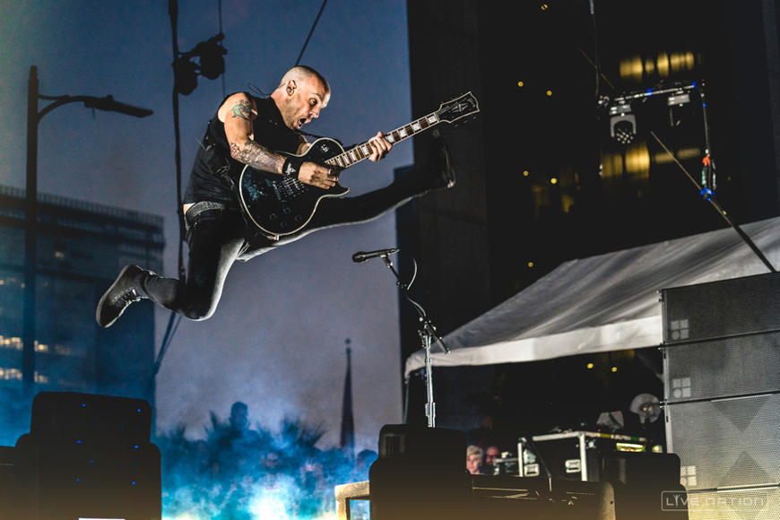 Rise Against at Made In America Festival Los Angeles