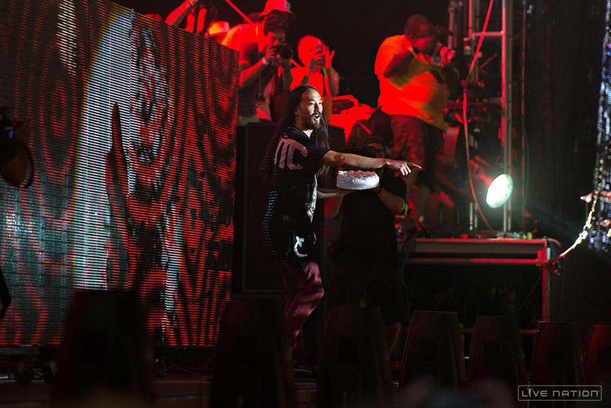 Steve Aoki at Made In America Philadelphia