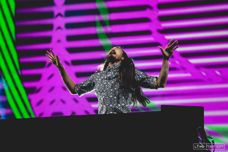 Steve Aoki at Made in America Los Angeles