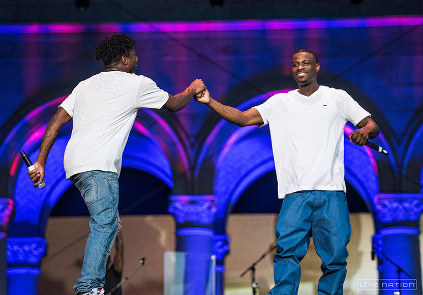 Isaiah Rashad + Jay Rock at Made in America Los Angeles