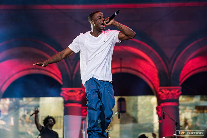 Jay Rock at Made in America Los Angeles