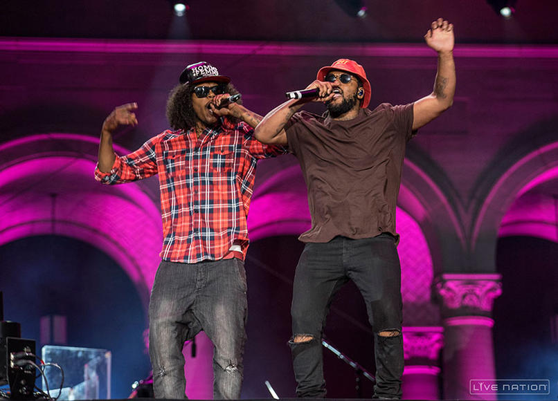 Ab-Soul + ScHoolboy Q at Made in America Los Angeles