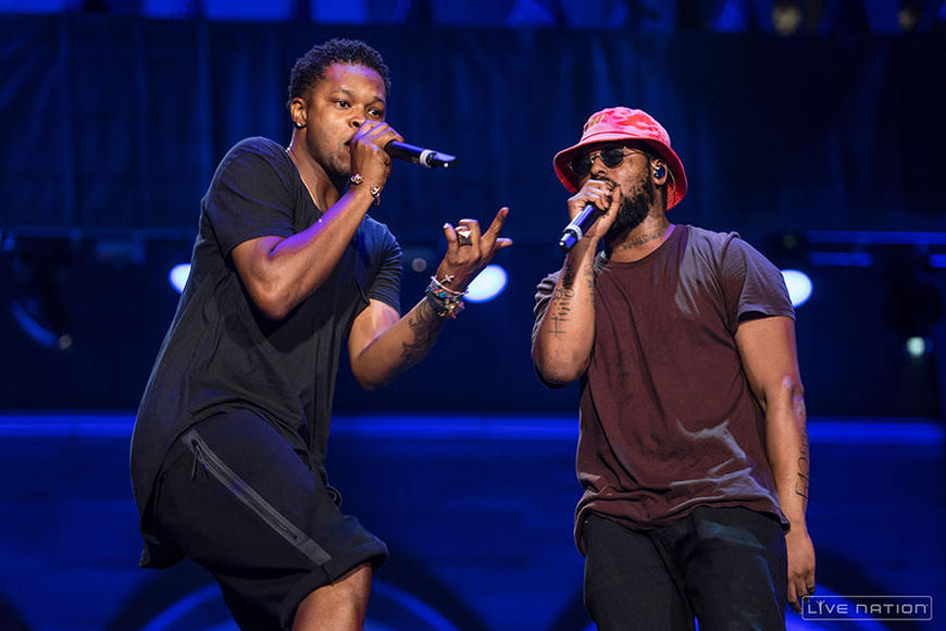 BJ the Chicago Kid + ScHoolboy Q at Made in America Los Angeles