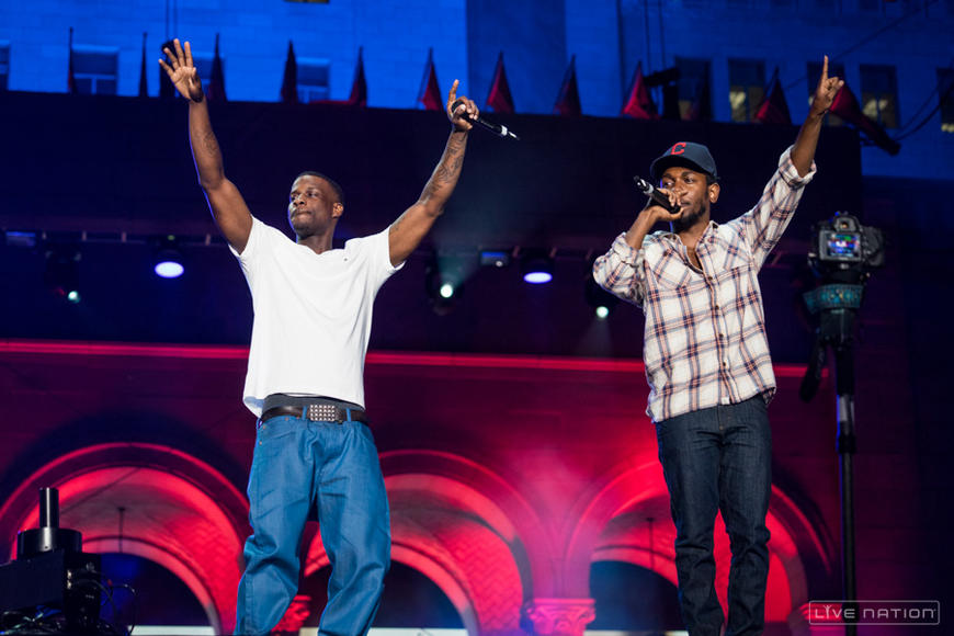 Jay Rock + Kendrick Lamar at Made in America Los Angeles