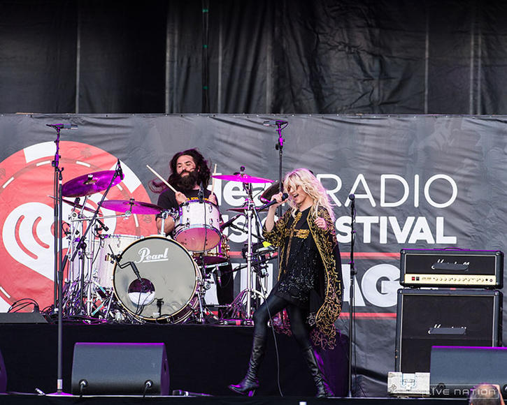 The Pretty Reckless - Alright, they're not punk, but Taylor Momsen's snarling vocals and bad-girl attitude can inspire head banging and fist-pumping a-plenty