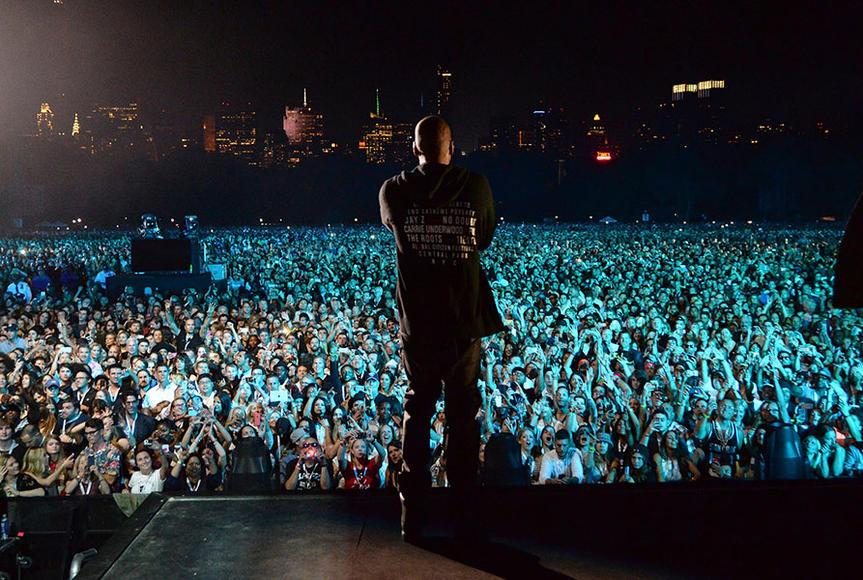 JAY Z at Global Citizen Festival