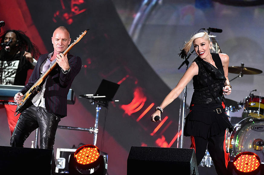 No Doubt and Sting at Global Citizen Festival