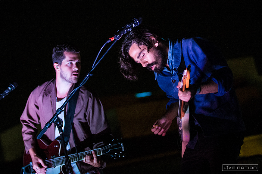 Local Natives at Way Over Yonder Festival