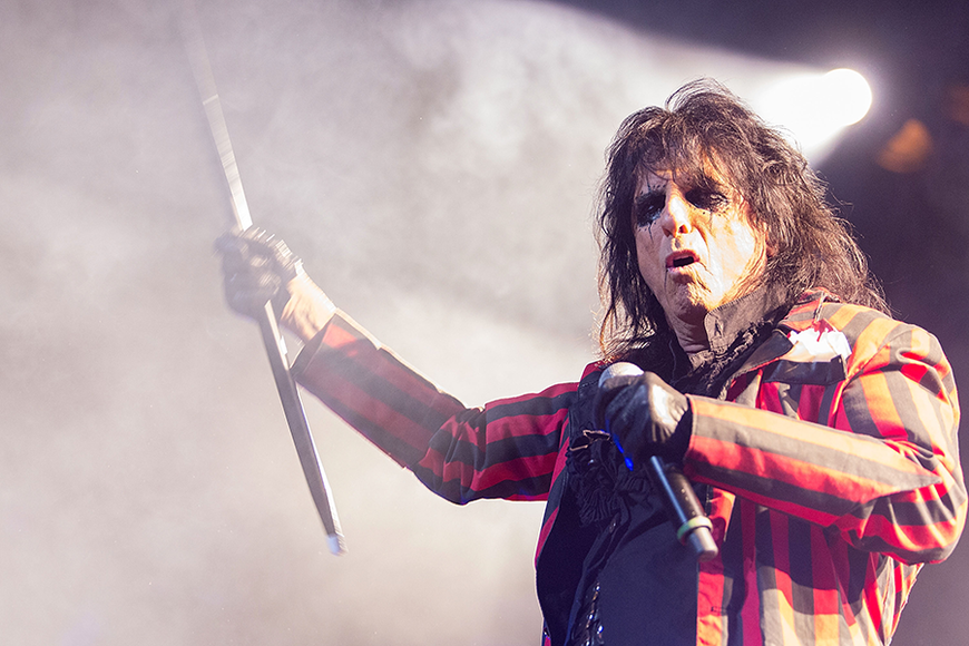 Alice Cooper: In 1969, the audience threw a live chicken at the iconic rocker. He threw it back, thinking it would fly away. It did not.