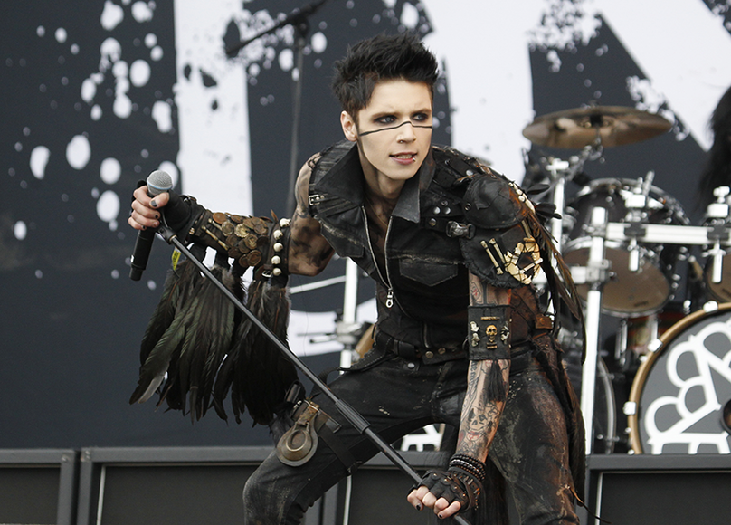 Black Veil Brides: The Hollywood-based glam metal act was largely inspired by KISS and Crüe.