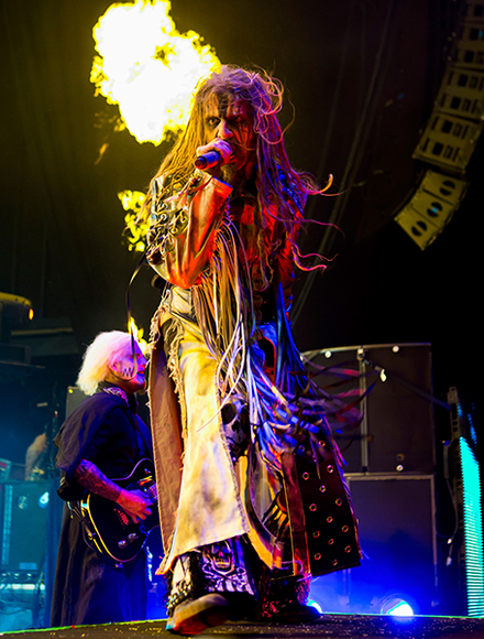 Rob Zombie: The metal musician is also a director/producer—and draws his influence from horror and suspense films.