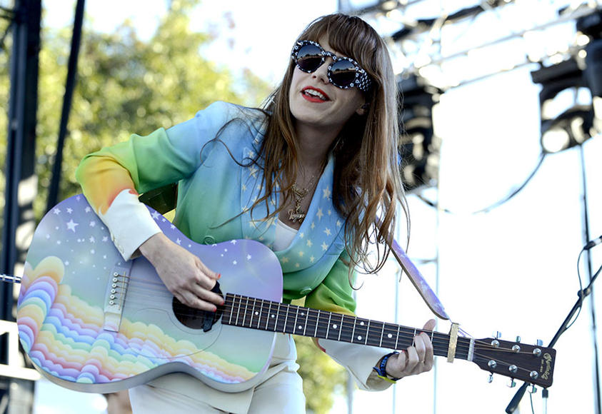 Jenny Lewis at ACL Weekend 1.