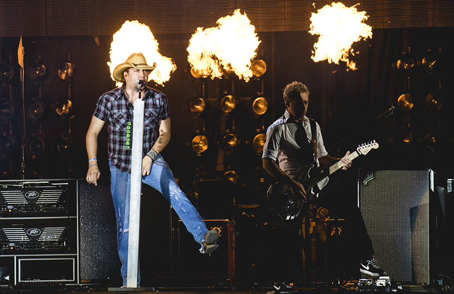 Jason Aldean Burn It Down Tour Tupelo Ms