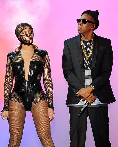 JAY-Z and Beyoncé: Are you drunk in love? Take your partner in crime on the run as pop's reigning power couple this Halloween.