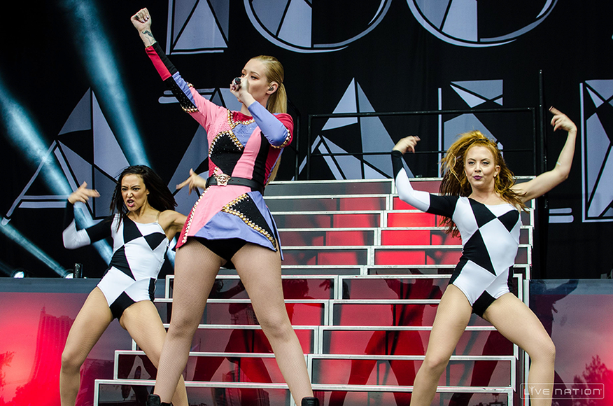 Iggy Azalea at ACL Weekend 2. One Nation exclusive.