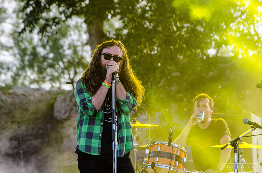 J Roddy Walston and the Business at ACL Weekend 2. One Nation exclusive.