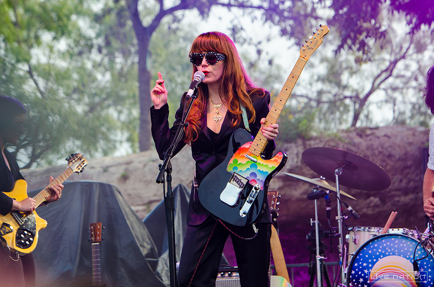 Jenny Lewis at ACL Weekend 2. One Nation exclusive.
