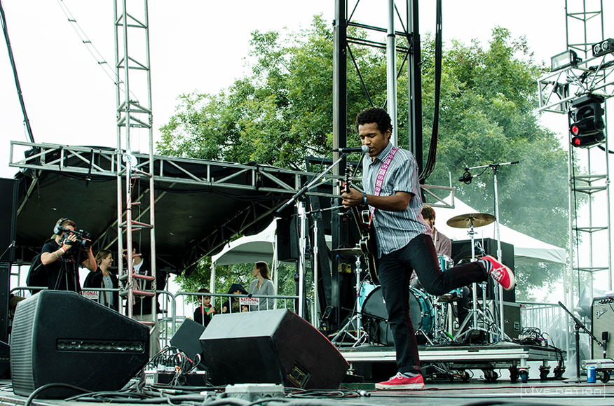 Benjamin Booker at ACL Weekend 2. One Nation exclusive.
