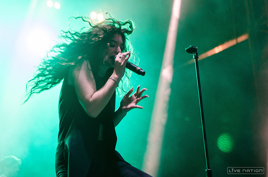 Lorde at ACL Weekend 2. One Nation exclusive.