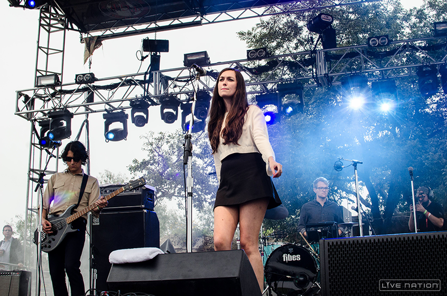 Cults at ACL Weekend 2. One Nation exclusive.