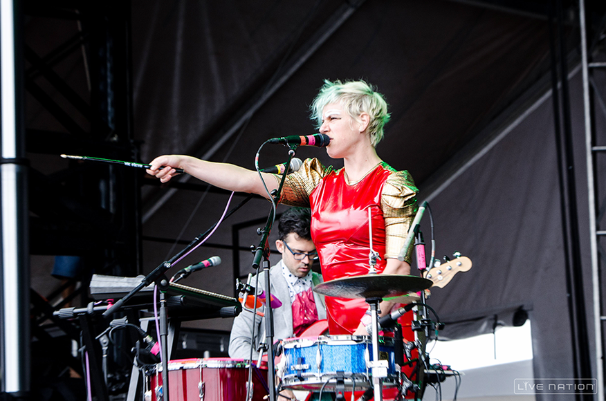 Tune-Yards at ACL Weekend 2. One Nation exclusive.