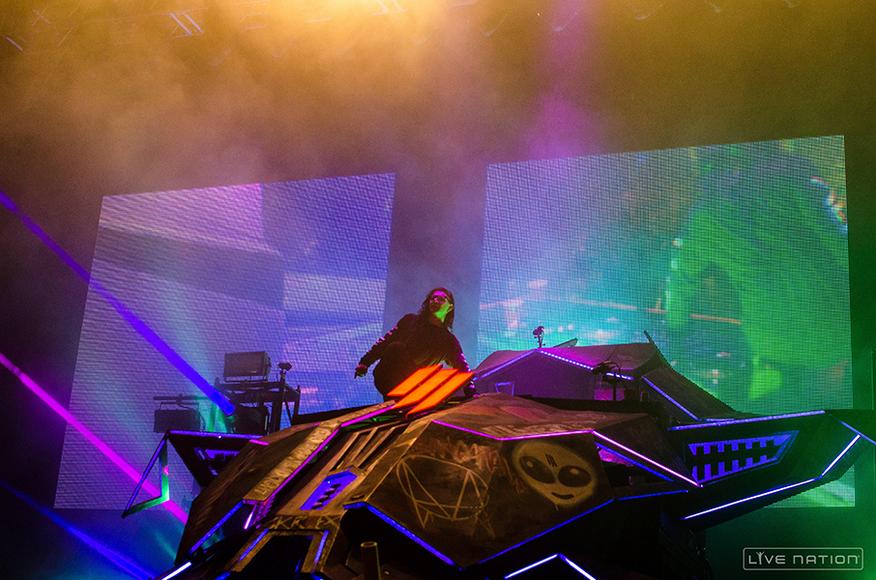 Skrillex at Austin City Limits Weekend 2