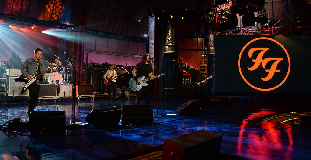 Late Show with David Letterman, New York, NY 2014
