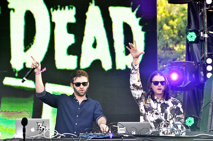 Zeds Dead: The duo has been riding high with near-constant touring and numerous hits. Zeds Dead brings a blend of heavier styles to the masses—perfect for a serious dose of high energy.